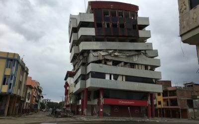 ESTUDIOLUX EN EL TERREMOTO DE ECUADOR
