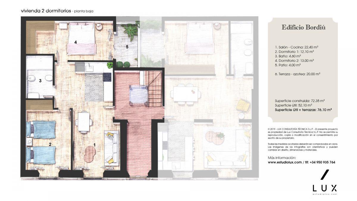 Apartamento Bordiu baja