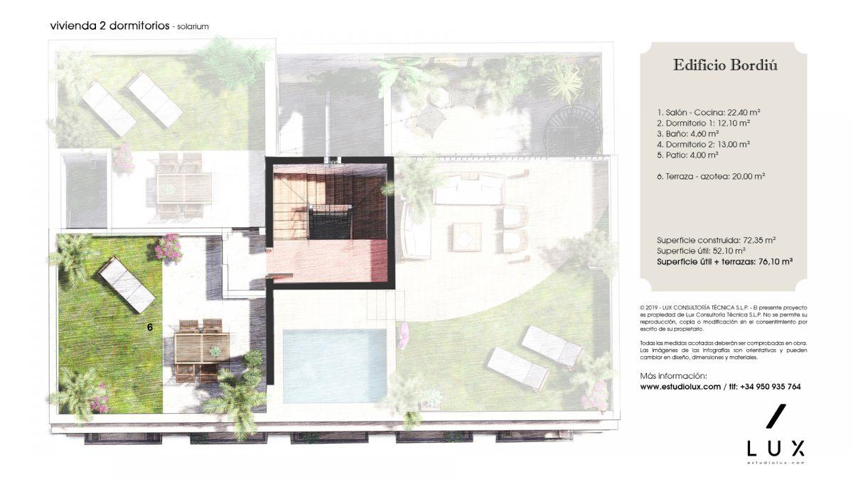 Apartamento Bordiu solarium